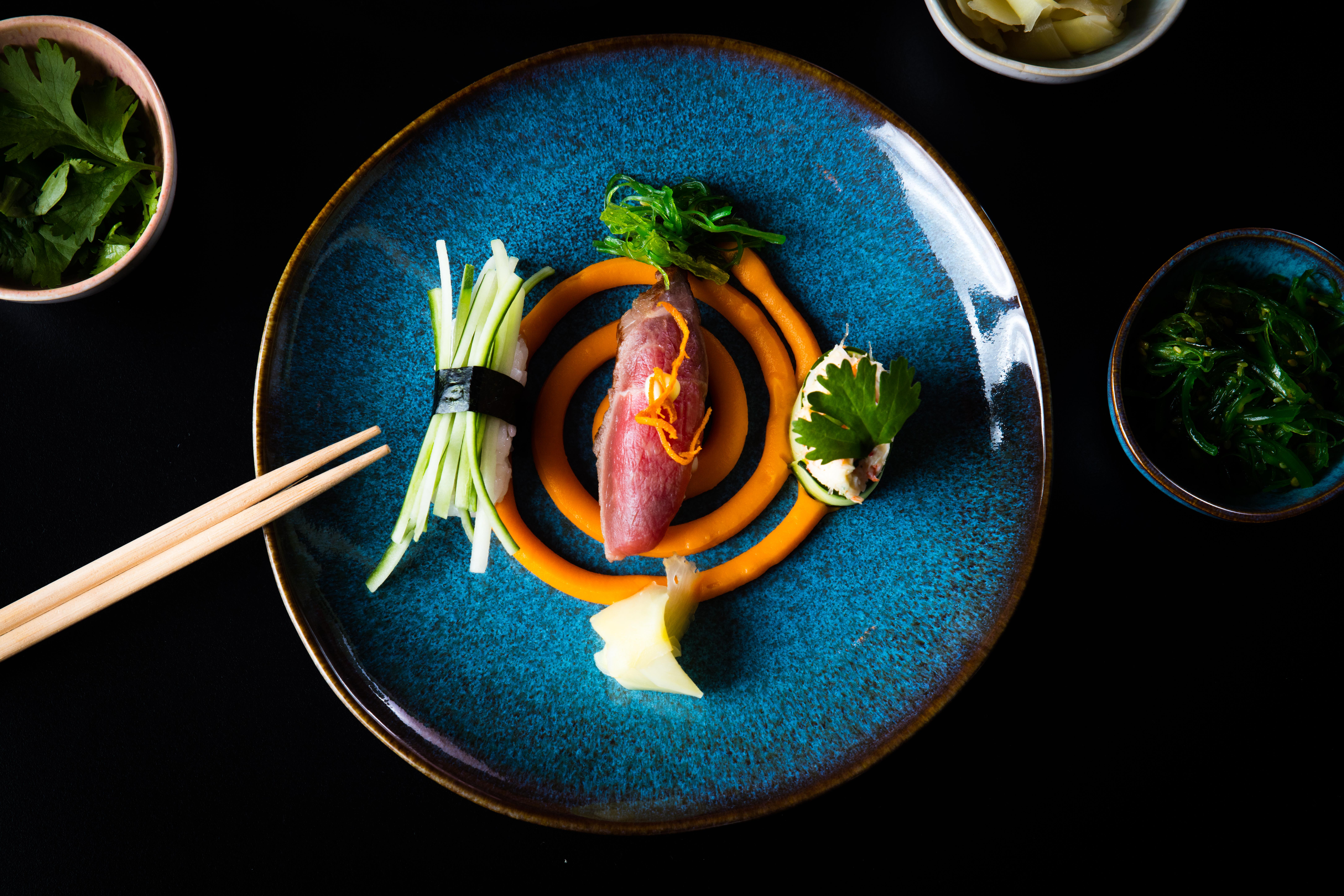 Sushi-22 Incroyable De Table Bar Cuisine Conception