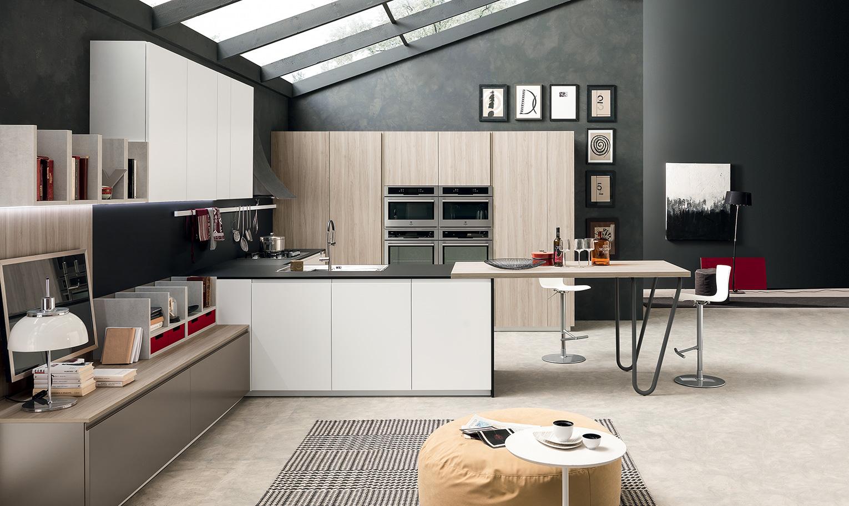 Arredamento Cucina. Cheap Ada Kitchen Cabinet Height Luxury Cucina ...