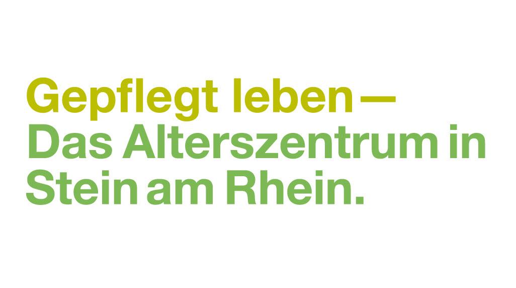 Bild Alterszentrum Stein am Rhein