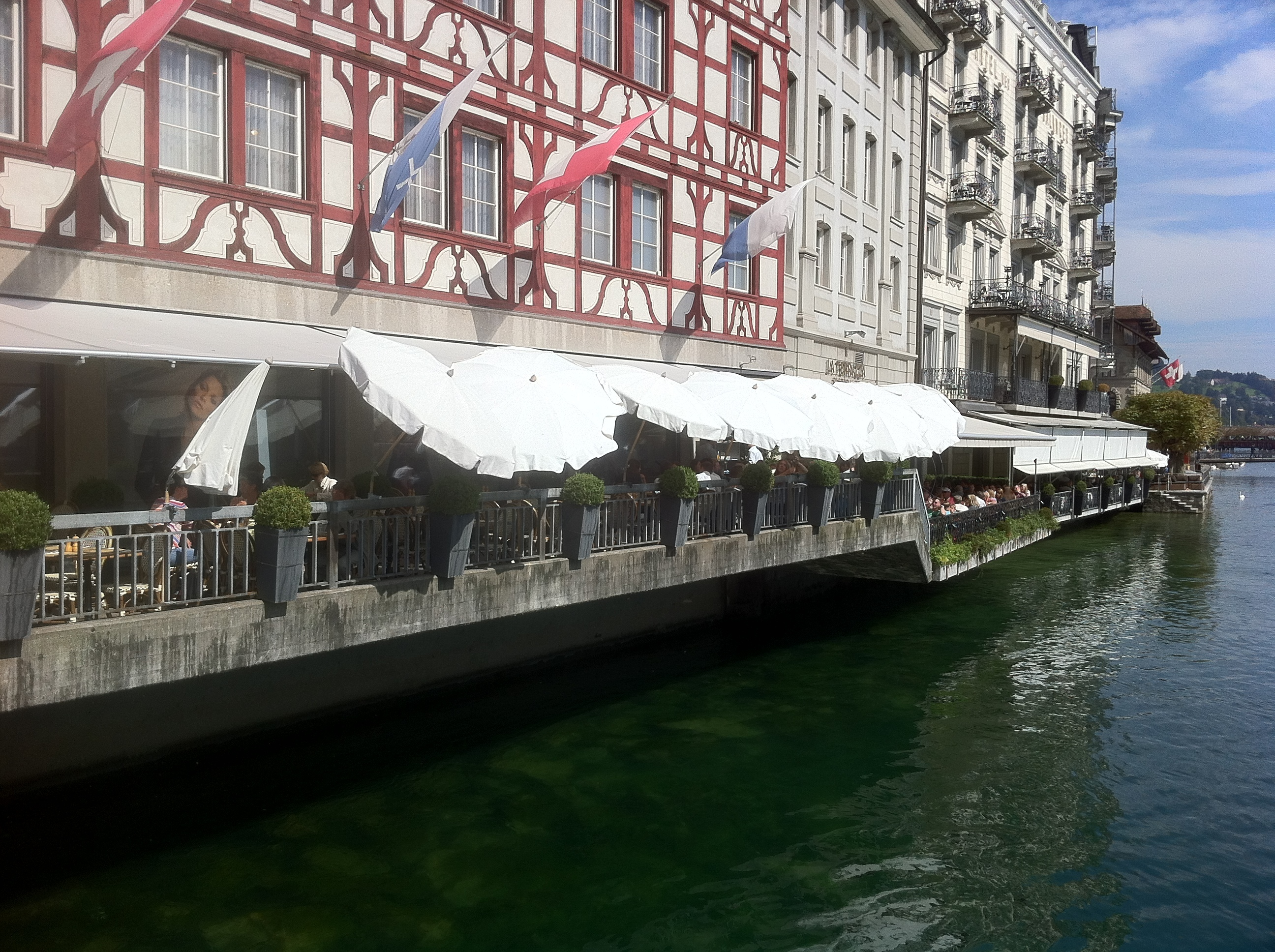 La Terrazza Restaurant In Luzern Opening Hours Address