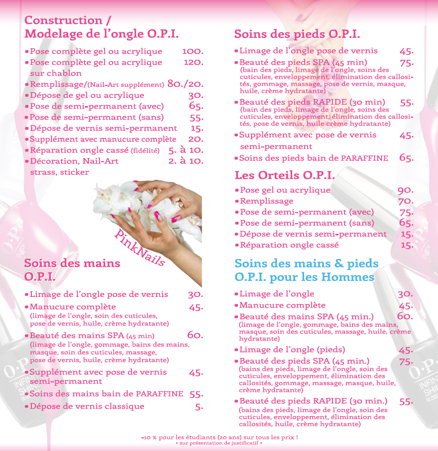 Pinknails Nail Cosmetics In Le Grand Saconnex Opening Hours Address Phone