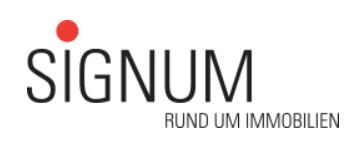 Signum AG Rund um Immobilien