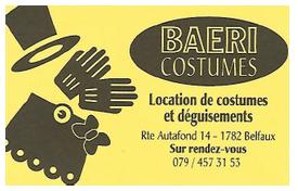 Baeri costumes
