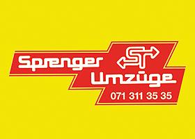 Sprenger Umzüge - Unternehmen der Firma Sprenger Transporte AG
