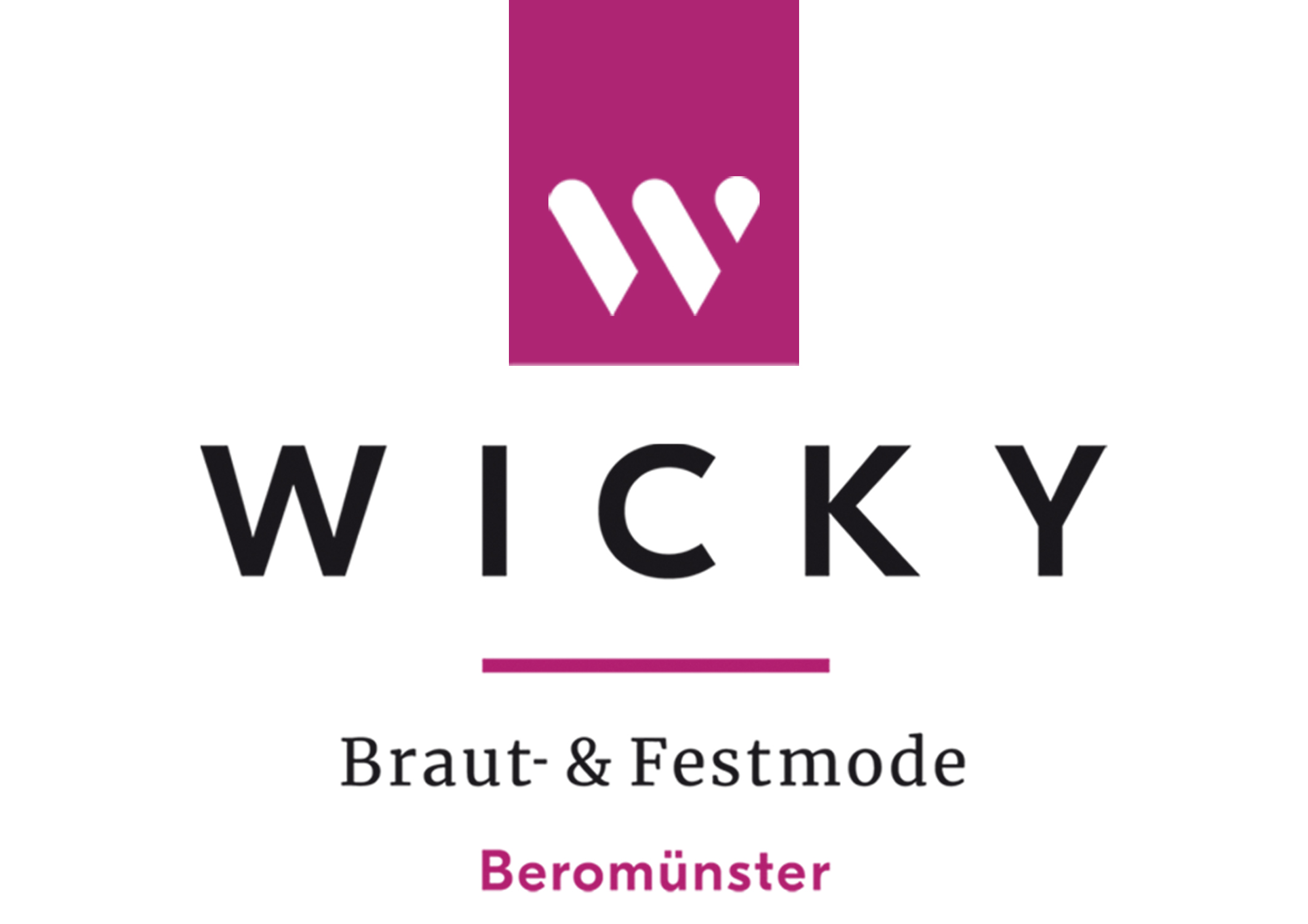 Brautmode Wicky