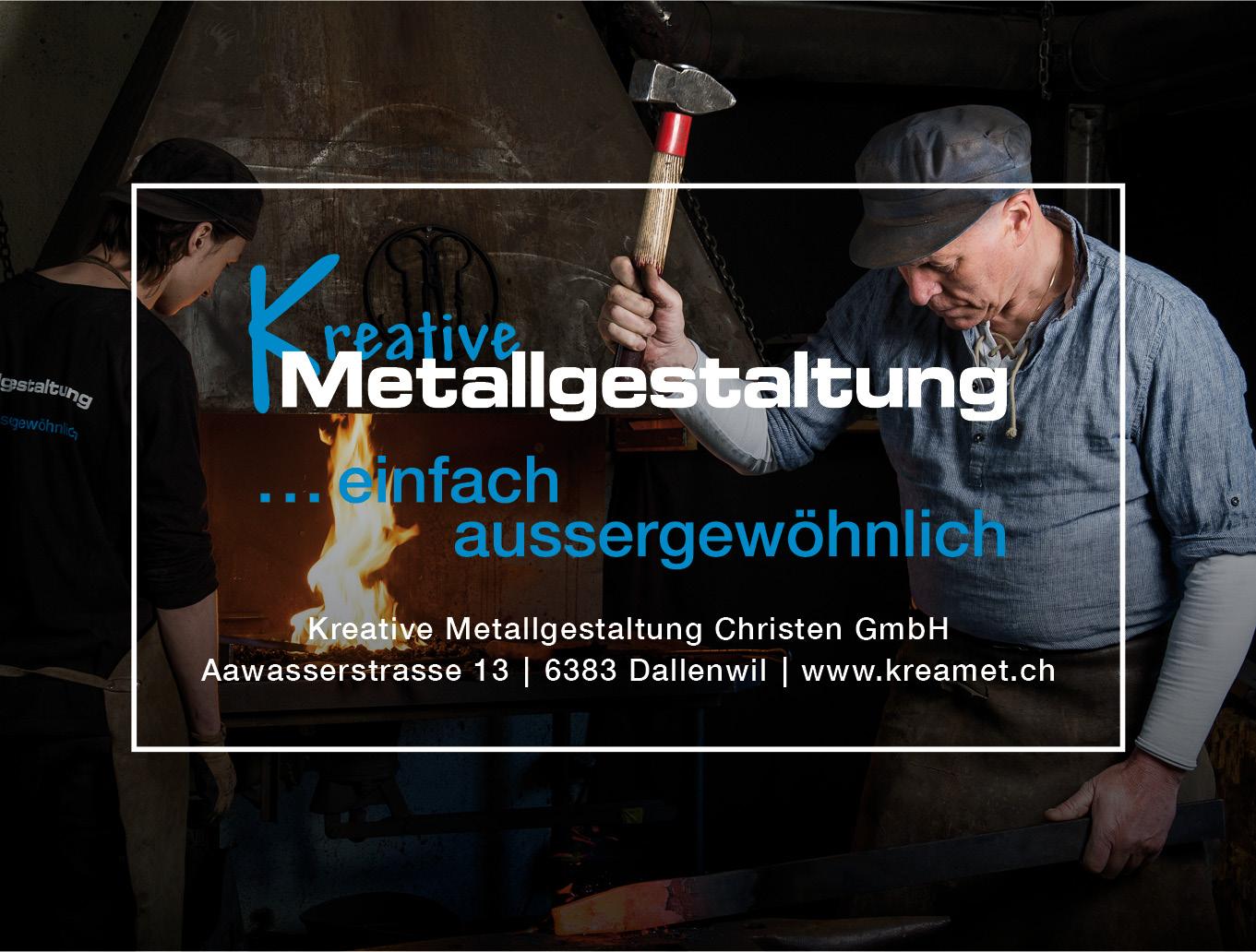 Kreative Metallgestaltung Christen
