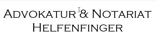 Advokatur & Notariat Helfenfinger