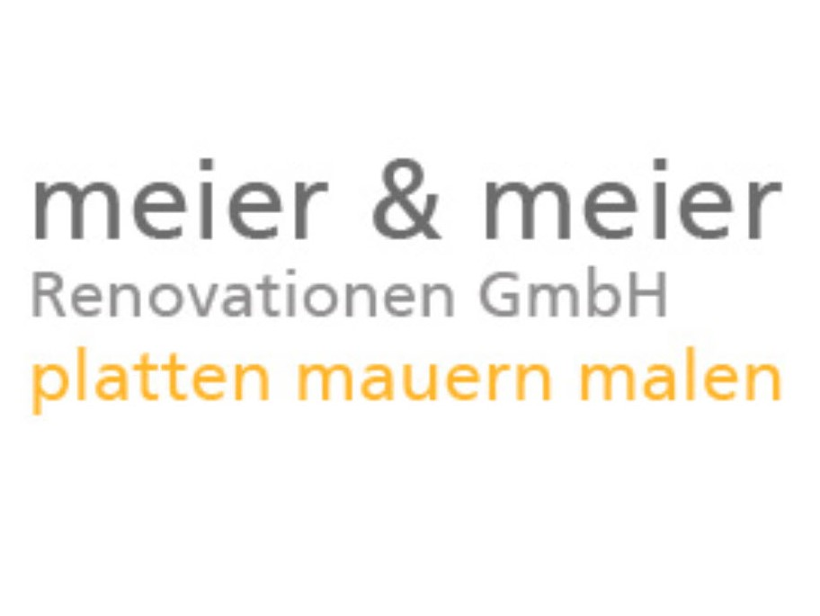Bild Meier & Meier Renovationen GmbH