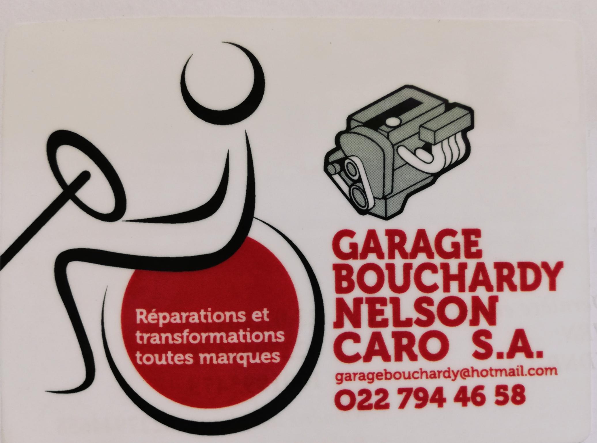Garage Bouchardy, Nelson Caro SA