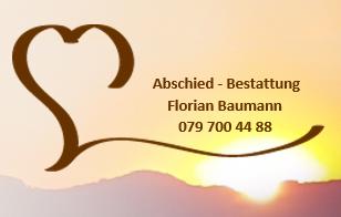 Abschied-Bestattung Baumann Florian