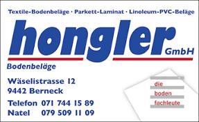 Hongler Bodenbeläge GmbH