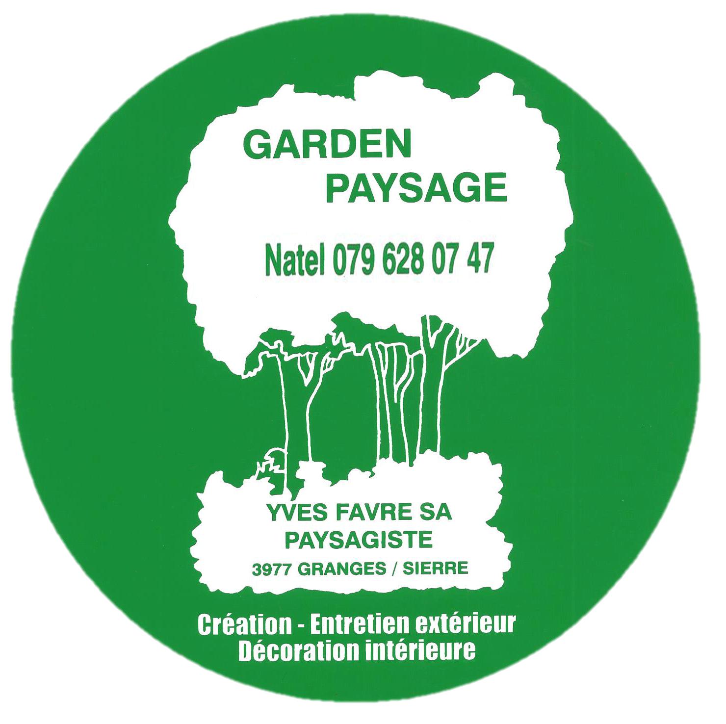 Garden Paysage Yves Favre SA