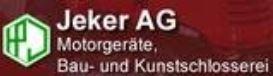Jeker AG Motorgeräte, Bau- und Kunstschlosserei