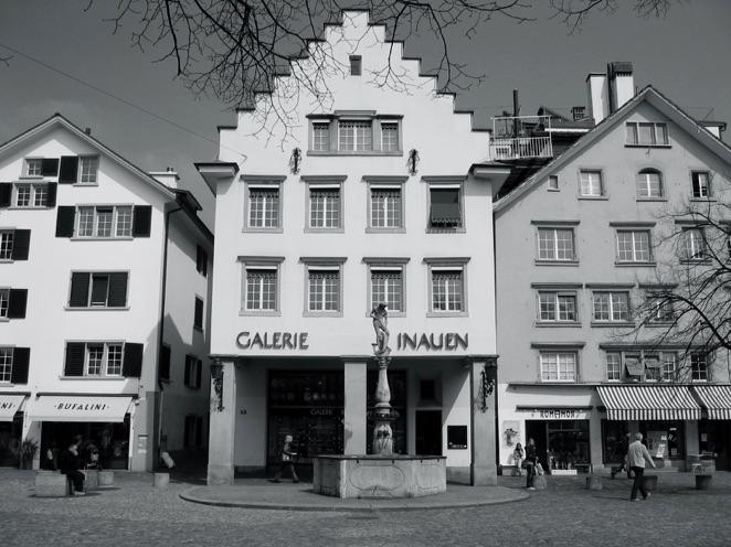 Galerie Inauen am Hechtplatz