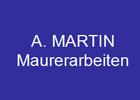 A. MARTIN Kundenmaurer