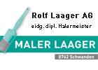 Bild Rolf Laager AG, Malergeschäft und Gerüstbau