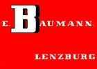 Baumann E. Transporte, Brennstoffe, Lagerhaus, Lenzburg