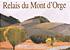 Le Relais du Mont D'Orge