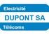 Dupont SA Entreprise Générale d'Electricité